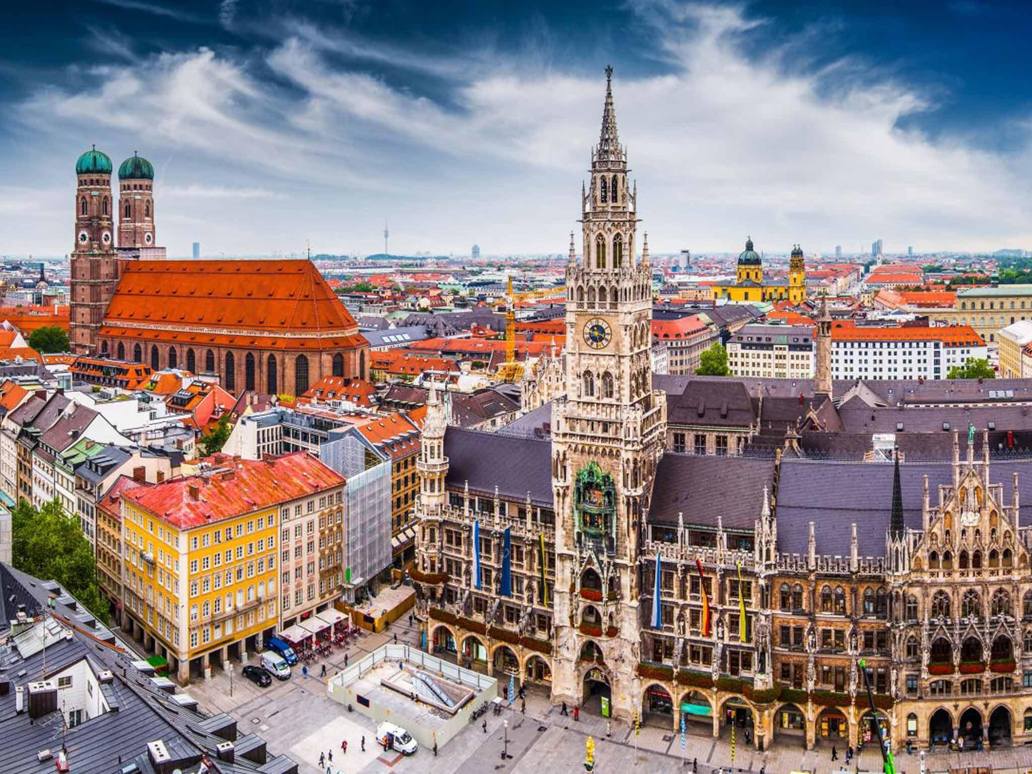 Туристический город Мюнхен