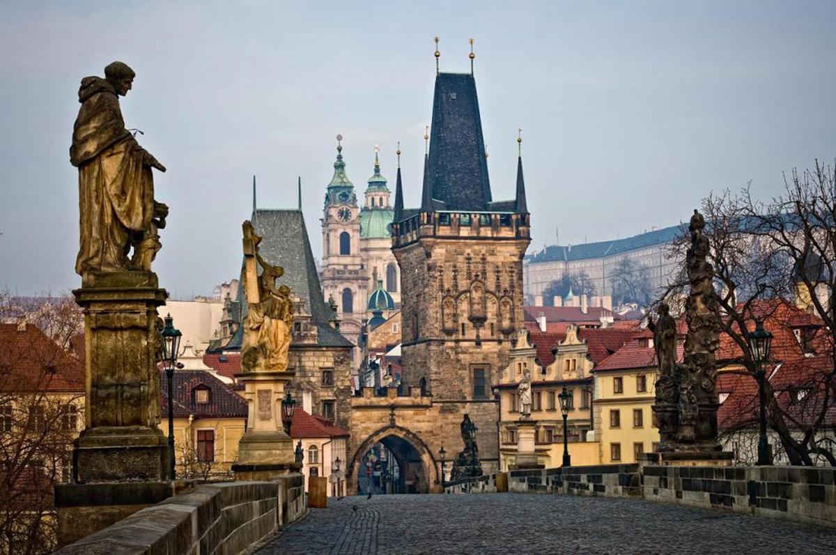 Туристический город Прага