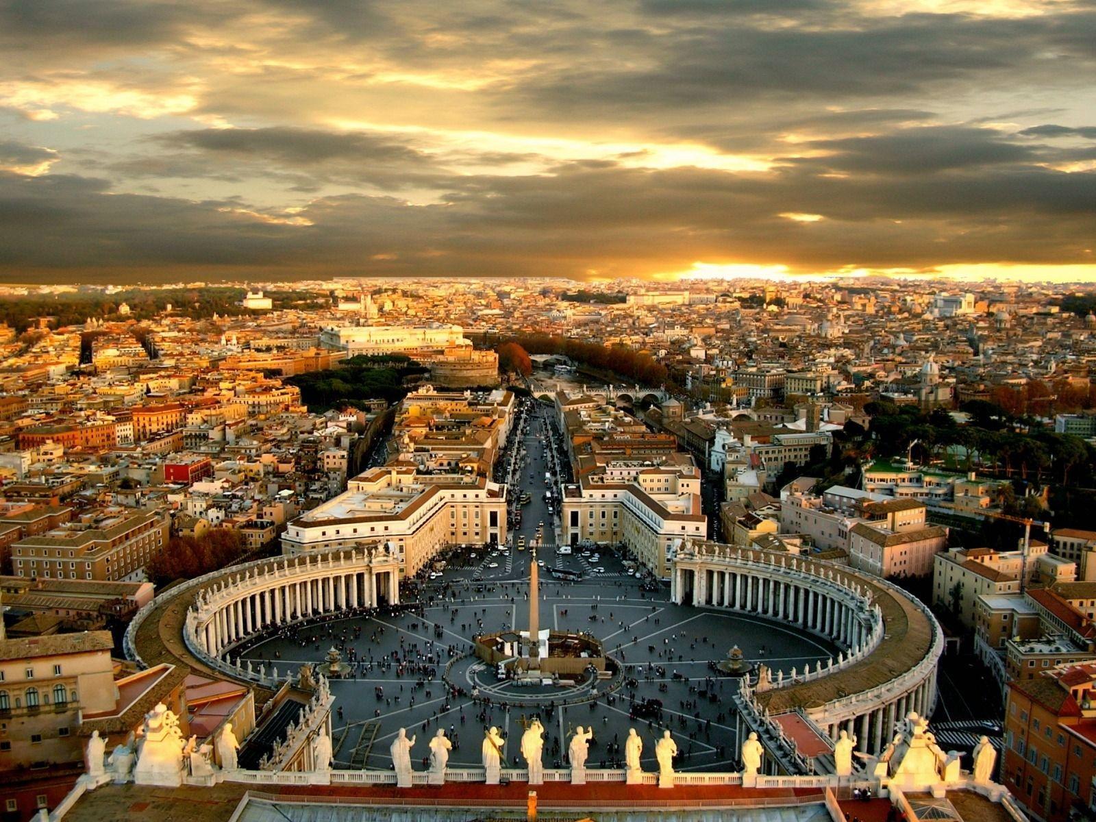 Туристический город Рим
