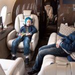 Что нужно делать чтобы малышу не стало плохо в самолете
